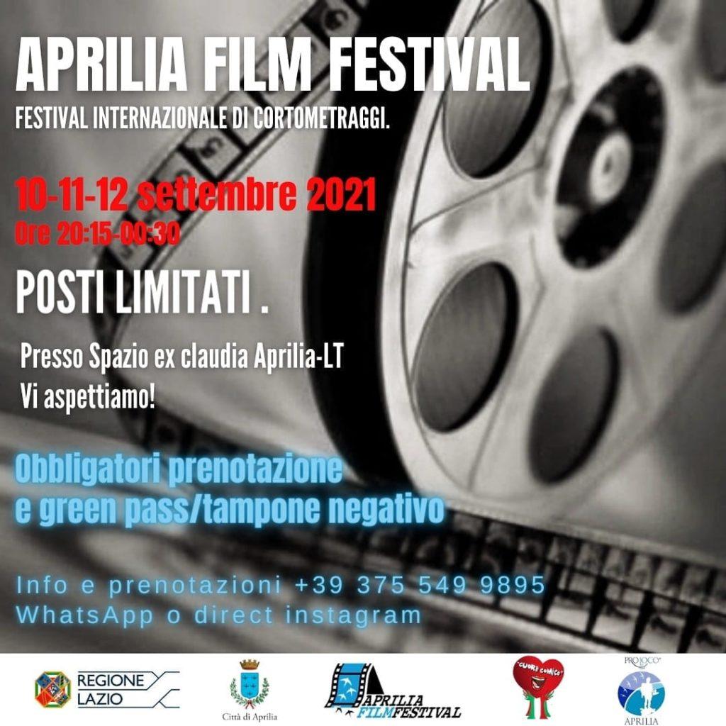 L'Associazione Compagnia del Sapere sostiene il progetto Aprilia Film Festival